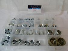 Hydraulic JIC Cap and Plug Adapter Kit Set 66-pcs steel JIC An fittings 6 sizes