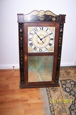 Wall Clock Designed by Eli Terry Reproduced in Zeeland, Michigan by Colonial
