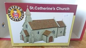 Oxford Structures OS76T001 St. Catherines Church Building 1/72 Scale NEW