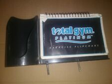 Total Gym Platinum Exercise Flipchart And Cup Holder
