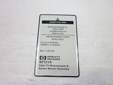 Hewlett Packard HP 85721A Cable TV Measurement System Monitor Personality Card