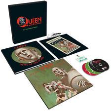 QUEEN - NEWS OF THE WORLD, 2017 EU 40TH ANNIVERSARY LP + 3CD + DVD BOX SET, NEW!