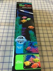 GloFish Light 29039 2-Piece LED Stick Light for 55-Gallon Aquarium 13-Inch Wh...