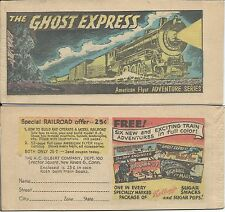 KELLOGGS CEREAL AMERICAN FLYER ADVENTURE SERES GHOST EXPRESS MINI GIVEAWAY PROMO