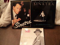 Frank Sinatra Books (3) - Alan Frank; Legend by Nancy; Life - Farewell Bennett