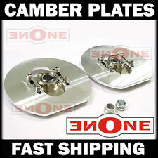"""MK1 Universal Fit 6"""" X 6.4"""" Camber Plate Plates Strut Mount Mounts"""