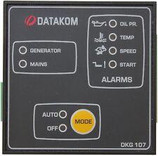 DATAKOM DKG-107 PAINEL DE INÍCIO DO CONTROLE DE FALHA DA REDE AUTOMÁTICA DO GENE