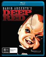 Deep Red - Blu-Ray [New/Sealed] Dario Agento