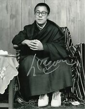 "Dalai Lama Signed 11x14 Photo w/ ""Full Letter"" JSA LOA #Z12212"