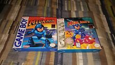Nintendo Gameboy Mega Man Dr. Wily's Revenge Mega Man II Boxed Complete Game Boy