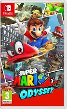 précommande jeu nintendo switch Super Mario Odyssey neuf