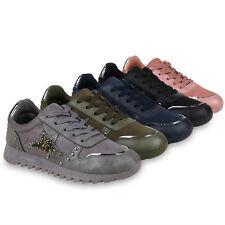 Damen Sportschuhe Laufschuhe Glitzer Turnschuhe Fitness Sneaker 823666 Schuhe