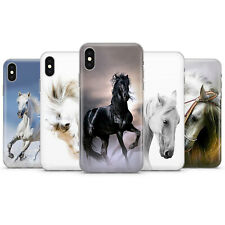 Caballo, Caballo Hermoso teléfono caso tapa se ajusta para iPhone 5 6 7 8 11 XR, XS Max, X