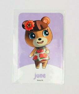 Amiibo NFC Karte Animal Crossing June