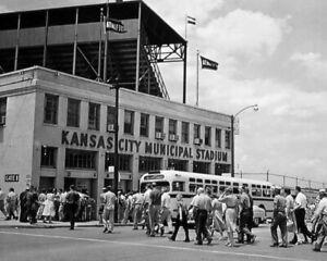 1962 Kansas City Athletics MUNICIPAL STADIUM Glossy 8x10 Photo Print Poster
