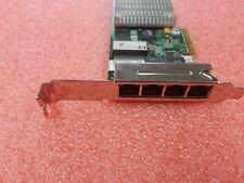HP NC375T PCI-E Quad Port Ethernet Adapter 538696-B21/539931-001 W/ Long Bracket