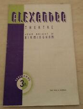 1946 Alexandra Theatre: Eileen Draycott Genine Graham in THIS WAS A WOMEN