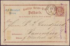 1874 DR Brustschild P1 K2 PIRNA BAHNHOF Feuser Sachsen 243 Marschall Landfried