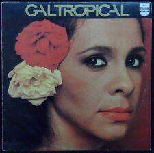 GAL COSTA - GAL TROPICAL LP Rare Israel Israeli press DIFF COVER Samba MPB 1979