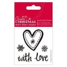 Navidad conjunto de sello de corazón Mini Claro-crear Navidad-DOCRAFTS