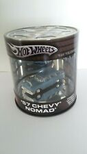 Hot Wheels Oil Can  '57 Chevy Nomad  Wagon Wheels Series    Blue