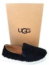 UGG Australia RICCI Women's Slip On Shoes Faux Sheepskin Black US 8 New Z373