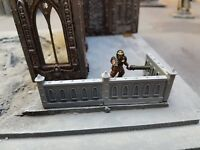 6x Gothic walls. Warhammer necromunda killteam