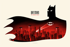 BTAS Print Phantom City Creative Mondo Batman Animated Series Poster Olly Moss
