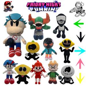 Friday Night Funkin Girlfriend Boyfriend Plush Toy FNF Whitty Demon Monster Doll