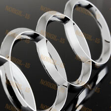 For Audi Rings Chrome Back Rear Trunk A3 A4 S4 A5 S5 A6 S6 SQ7 Badge Emblem New