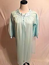 Vintage Gossard Artemis Winter Lined Chiffon nylon Nightgown