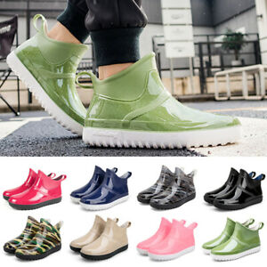 Men Women Wellington Boots Rain Waterproof Wellies Outdoor Garden Snow Rain Shoe