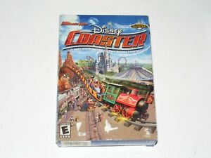 Ultimate Ride Disney Coaster PC Game Brand New Sealed In Box 2002