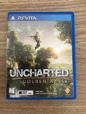 Uncharted Golden Abyss - Sony PS Vita Playstation PSVITA R3 - Free Postage