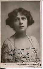 Marie Lohr Autograph Australian Silent Movie Actress Signed Photo