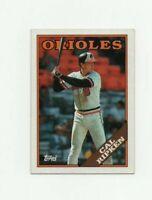 1988 Topps Cal Ripken Jr Baseball Card #650 Baltimore Orioles HOF