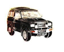Voiture pin/broches-Daihatsu rocky noir [1235]