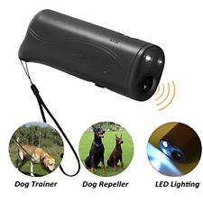 POVAD LED Ultrasonic Dog Repeller, 3 in 1 Ultrasonic Pet Repeller Anti Bark Stop