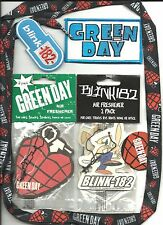 GREEN DAY BLINK 182 merchandise BUNCH of 5 patches laces air fresheners IMPORTS
