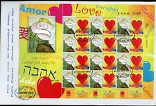 ISRAEL 2010 PABLO PICASSO 'WOMAN WITH YELLOW  HAIR'   LOVE  SHEET ON FDC