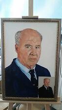 Portrait nach Ihrem Foto als Ölgemälde, Ölbilder auf Leinwand Geschenk,
