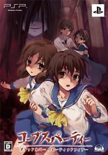 Used PSP Corpse Party: Blood Covered - Repeated Fear Limited Edition Japan Impor