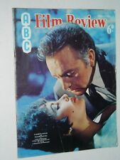 ABC FILM REVIEW (March 1968)...TAYLOR & BURTON   cover