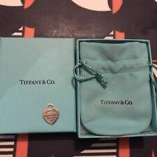 Genuine Tiffany & Co. ritorno a Tiffany 925 Argento Sterling Ciondolo in Scatola