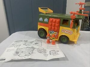 Vintage TMNT Teenage Mutant Ninja Turtles Vehicle Complete Party Wagon Van