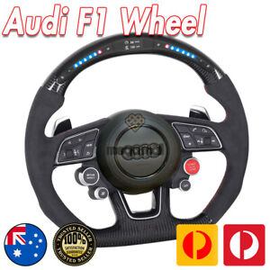 Carbon Fiber steering wheel For Audi 2017-2021 rs3 rs4 rs5 s3 s4 s5  a4 a5 a3