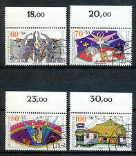 Bundespost 1411 - 1414 gestempeld (1)