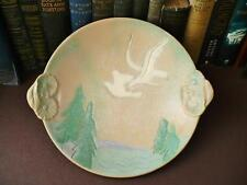 1920's/30's Art Deco Hand Decorated Large Bowl - Sgraffito Decorated