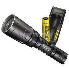 Nitecore SRT7GT Red/Green/Blue/UV Tactical Flashlight with Battery & Charger