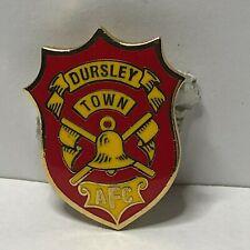 Dursley Town Association red Enamel Badge  Non League Football Clubs